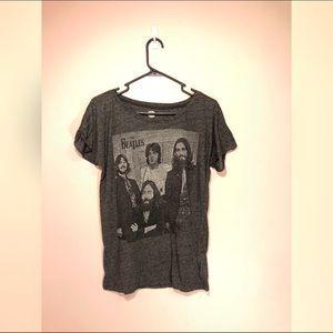 Tops - The Beatles Gray TShirt